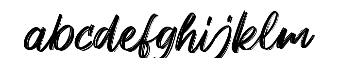 Keypass Font LOWERCASE