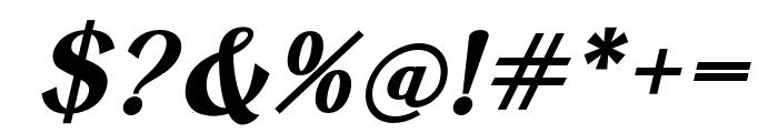Keystone Bold Italic Font OTHER CHARS