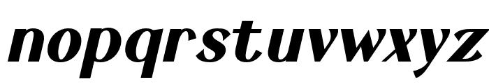 Keystone Bold Italic Font LOWERCASE