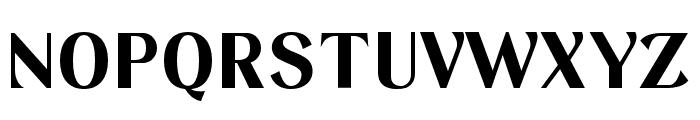 Keystone Bold Font UPPERCASE