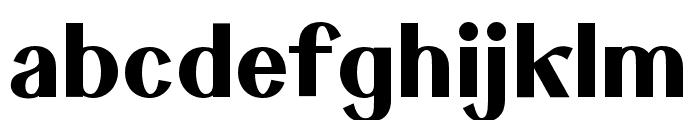 Keystone Bold Font LOWERCASE