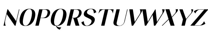Keystone Italic Font UPPERCASE
