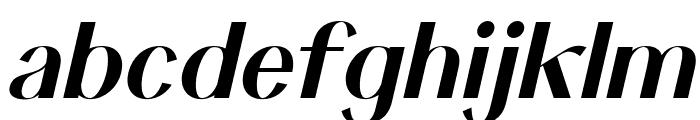 Keystone Italic Font LOWERCASE