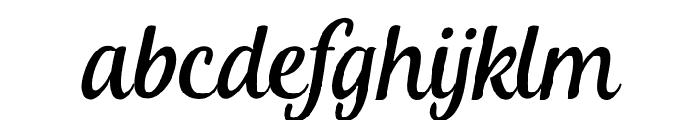 KhamdenScript Font LOWERCASE