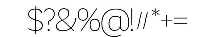 Khula Font OTHER CHARS