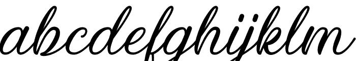 Kiara Akira Font LOWERCASE