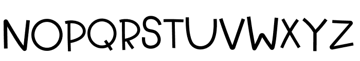 Kid Learning Font Font UPPERCASE
