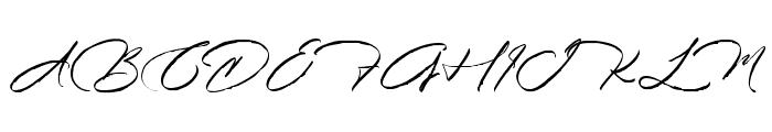 Kidnatting Font UPPERCASE