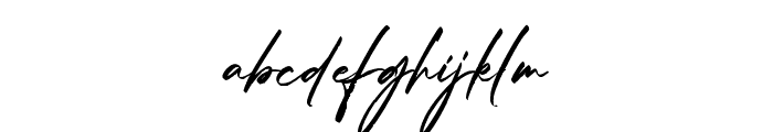 Kidnatting Font LOWERCASE
