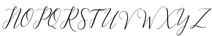KimberlyScript Font UPPERCASE