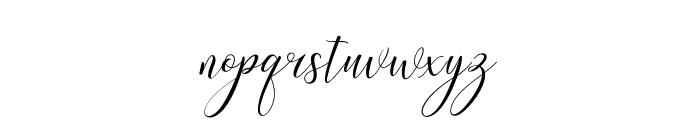 KimberlyScript Font LOWERCASE