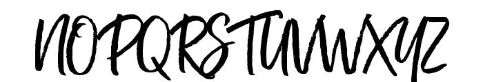 Kind Heart Three Font UPPERCASE
