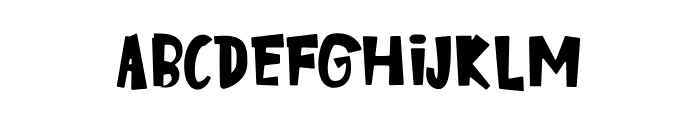 Kinder Boys Font UPPERCASE