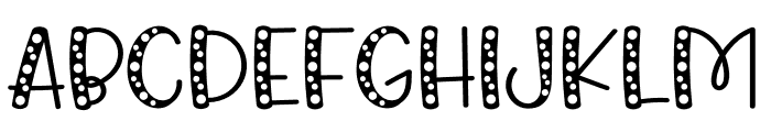 King Rabbit Bubble Font LOWERCASE