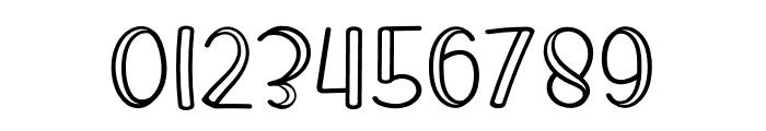 King Rabbit Outline Font OTHER CHARS