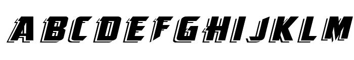 KingFisher Font UPPERCASE