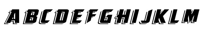 KingFisherBOLD-ITALIC Font UPPERCASE