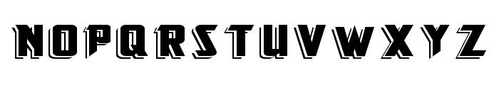 KingFisherBOLD Font UPPERCASE