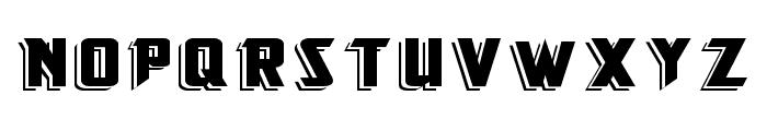 KingFisherBOLD Font LOWERCASE