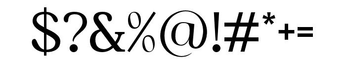Kingdom-Regular Font OTHER CHARS