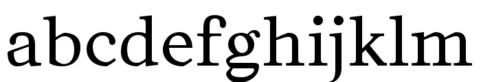 Kingdom-Regular Font LOWERCASE