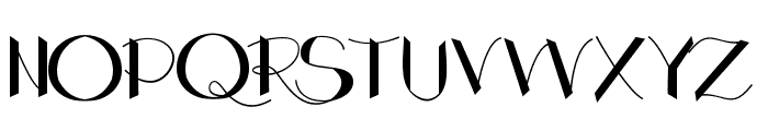 Kingdom Font UPPERCASE