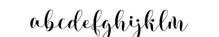 KisyahStandard-News Font LOWERCASE