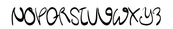 Kitchen Bule Font UPPERCASE