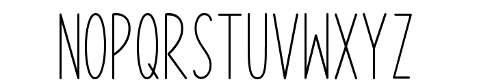 Kitchen Home Font LOWERCASE
