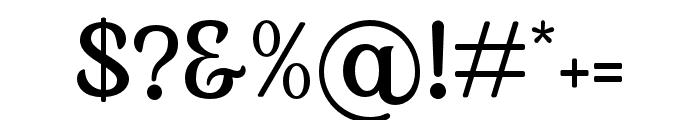 KlarindaPlayful-Regular Font OTHER CHARS