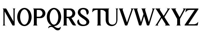 KlarindaPlayful-Regular Font UPPERCASE