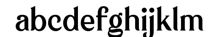 KlarindaPlayful-Regular Font LOWERCASE