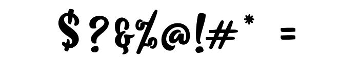 KlibeuthAlternates Font OTHER CHARS