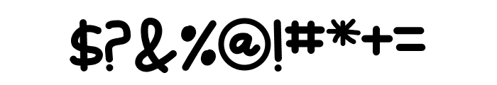 Kodomo Font OTHER CHARS