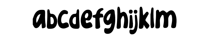 Kodomo Font LOWERCASE