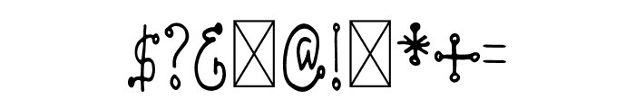 Konfity Font OTHER CHARS