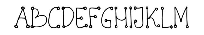Konfity Font UPPERCASE