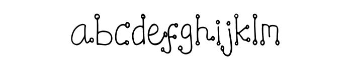 Konfity Font LOWERCASE