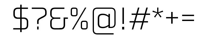 Konkretika Light WIP Font OTHER CHARS