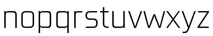Konkretika Light WIP Font LOWERCASE