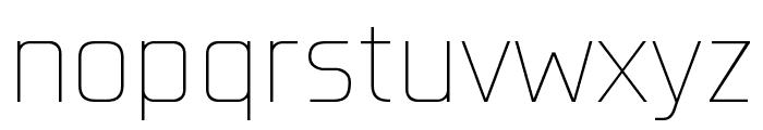 Konkretika Thin WIP Font LOWERCASE