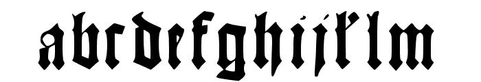 KonradKachelofen Font LOWERCASE
