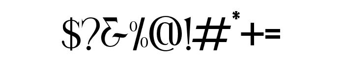 Korenah Font OTHER CHARS