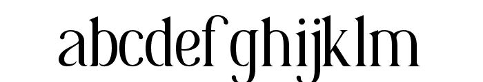 Korenah Font LOWERCASE