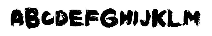 KustExtended Font LOWERCASE