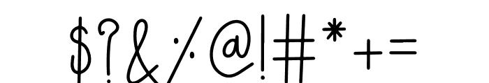 LAZYJOHHANNA Font OTHER CHARS
