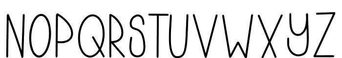LAZYJOHHANNA Font UPPERCASE