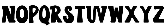 LD Funbites Draw Font UPPERCASE