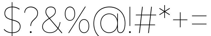 LEONAmoliss Font OTHER CHARS