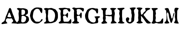LLPearlWhite Font UPPERCASE